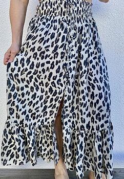 Lorena Skirt Leopard Cream