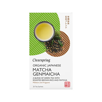 Organic Japanese Matcha Genmaicha 20p x4, EKO