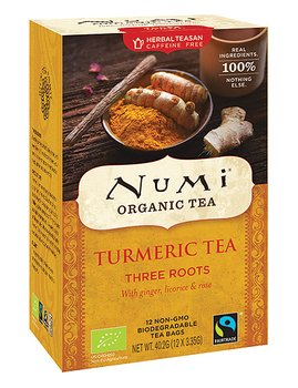 Turmeric (Three Roots) 12ps x6, EKO