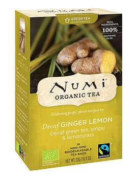 Decaf Ginger Lemon (gröntte) 16ps x6, EKO