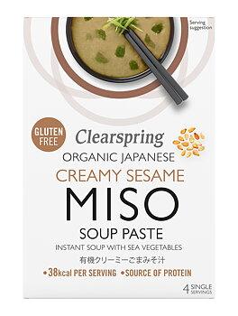 Misosoppa Creamy Sesame (4x15g) x8, EKO