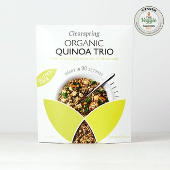 GF 90sek QuinoaTrio, olivolja & havssalt 250g x6, EKO