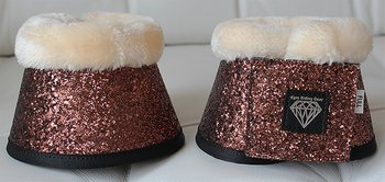 BELL BOOTS SUPER SPARKLY BRONZE TEDDY