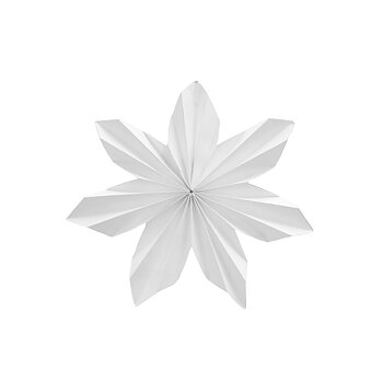 Pappersstjärna Dalby liten