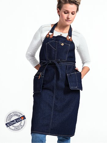 Brooklyn denim apron - förkläde i denim