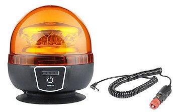 Strands Portabla varningsljus LED, uppladdningsbar
