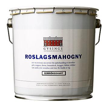Roslagsmahogny, 1-5L, två kulörer.