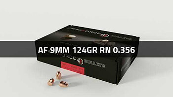 ARMAFORCE 9mm 124gr RN .356