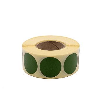 Täcklappar gröna 30mm 1000st
