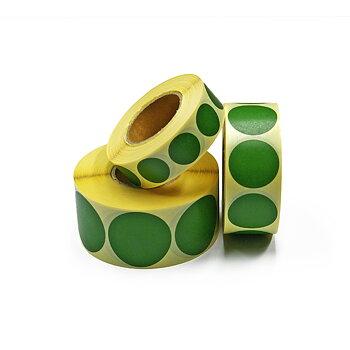Täcklappar gröna 40mm 1000st