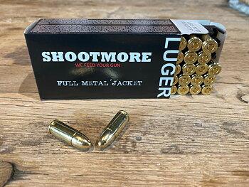 SHOOTMORE 9x19 FMJ 124gr