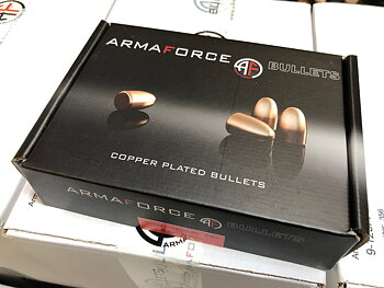 ARMAFORCE 9mm 145gr RN .356