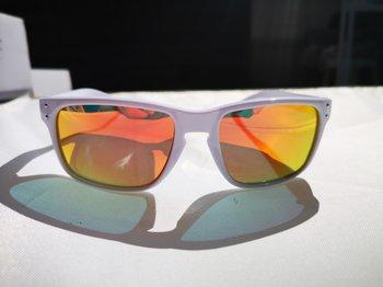 Solbriller | Hvit/orange