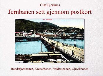 Jernbanen sett igjennom postkort