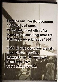 Vestfoldbanens 110-årsjubileum (DVD)