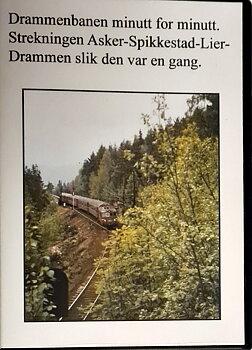 Drammensbanen minutt for minutt. (DVD)