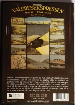 Valdresbanen i 100(1906-2006) (DVD)