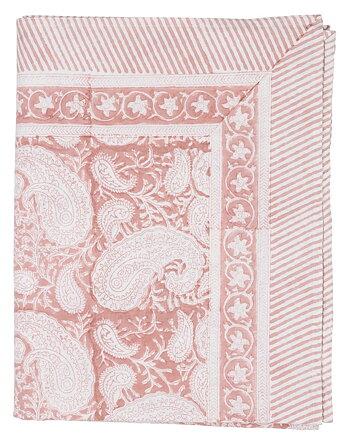 Bordsduk   Big Paisley   Fuchsia Rose   150x230