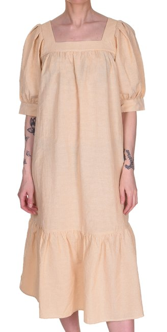 Uana Dress | Banana Cream