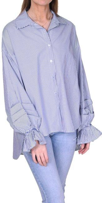 Skjorta Daisy | Blå randig