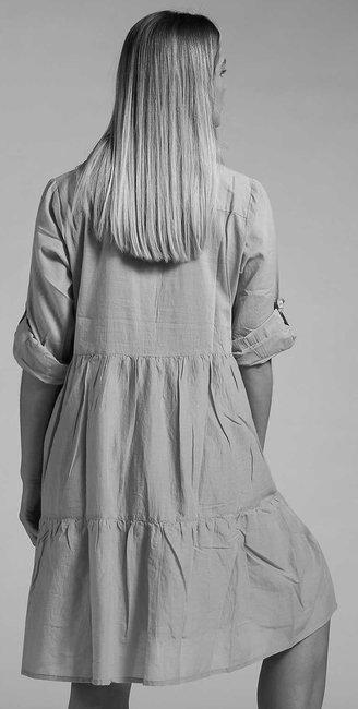 Short Dress with bottons | Leaf