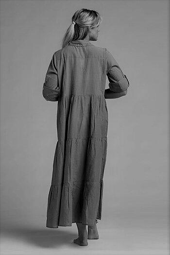 Long Dress with bottons | Viol