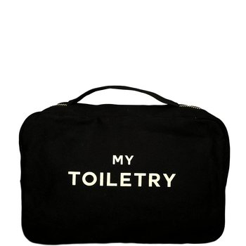 Folding Toiletry Case | Black