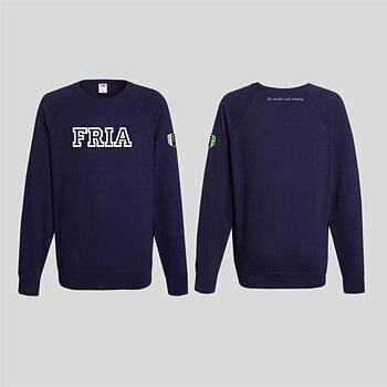 FRIA-elevtröja, marinblå