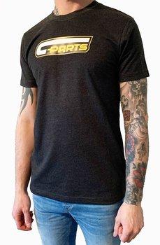C-parts T-shirt Mörkgrå
