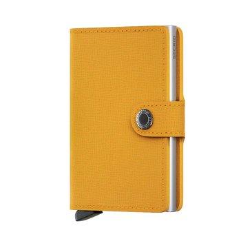 Secrid - plånboken som är RFID säker. Amber.