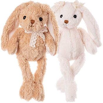Baby Karin & Calle, 22 cm, Gosedjur Kanin