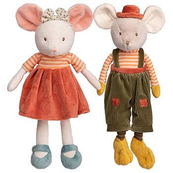 Ingefrid & Henry, 25 cm, Mjuksidjur Mus