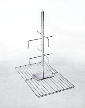 RATIONAL Lamm- och spädgrisspett Modell 202 till 30 kg (1 spett med bärare) *