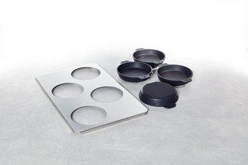 RATIONAL Liten stek- och bakpanna (0 16 cm) Sats (4 st. inklusive bärplåt)