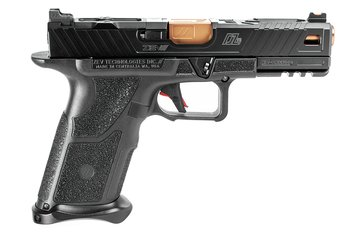 OZ9 Pistol, Standard, Black Slide, Bronze Barrel