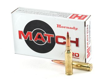 HORNADY MATCH™ AMMUNITION 6.5 CREEDMOOR 120 GR ELD® MATCH 20/BOX