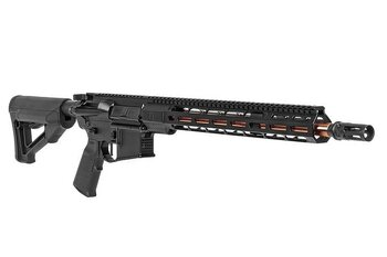 "ZEV AR15 CORE Elite Rifle, 5.56 NATO, 16"" Bronze finish Barrel, Black finish"
