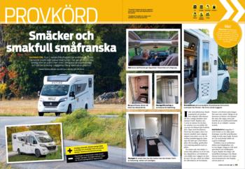 PROVKÖRT: RAPIDO C55 Husbil & Husvagn 5/2021