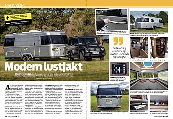 PROVKÖRT: ERIBA TOURING 820 Husbil & Husvagn 5/2021