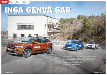 Vi Bilägare 2021/07 Biltest: Dacia Sandero / Kia Stonic / Seat Arona