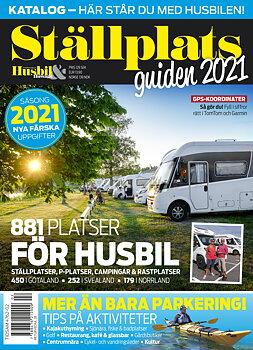 Ställplatsguiden 2021, Husbil & Husvagn nr 6/2021