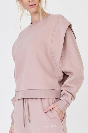 Cotton Candy - Suki Sweatshirt Pal Rose