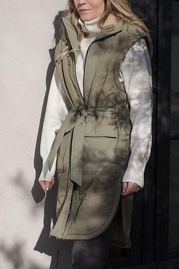 Neo Noir - BarbTeddy Waistcoat Dusty Mint