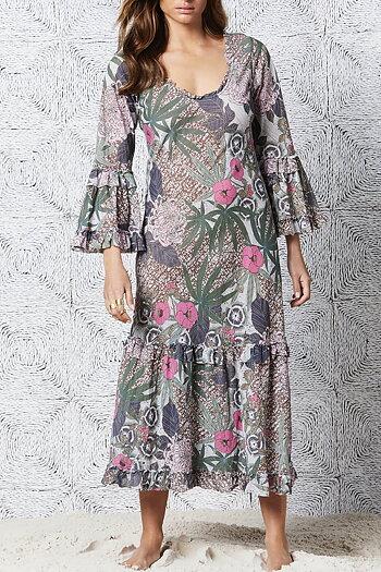 One Season - Long Indi Bora Bora Cotton Pink