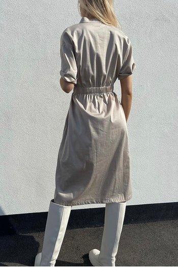 Levéte Room - Isla solid Dress Sand
