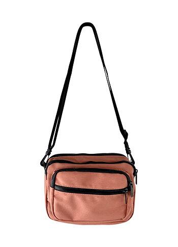 Black Color - Vada Matte Nylon Bag