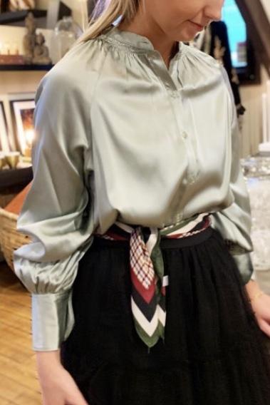 Dakota Silk Blouse