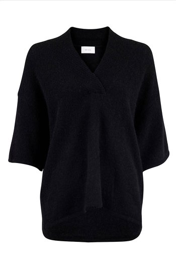 Neo Noir - Kally Knit Blouse Black