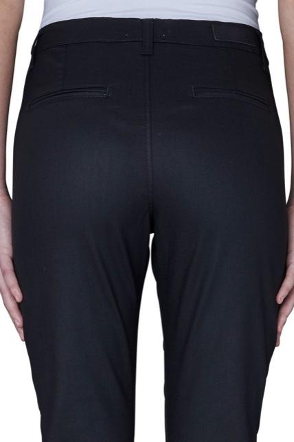 Jolie Navy Coated Pants