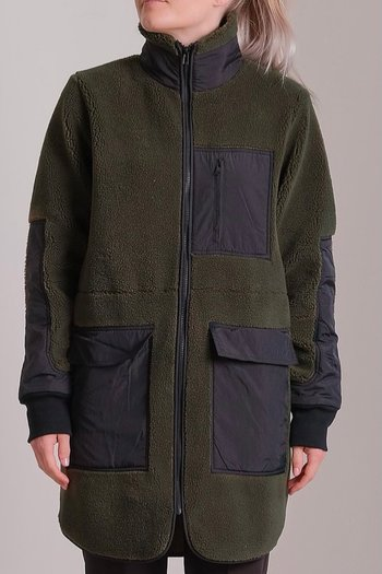 Neo Noir - Flake Teddy Jacket Army